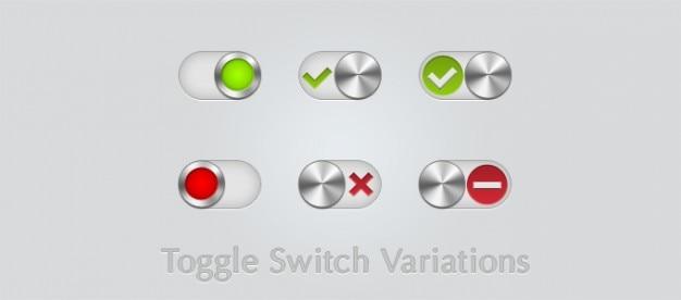 Variations interrupteur à bascule