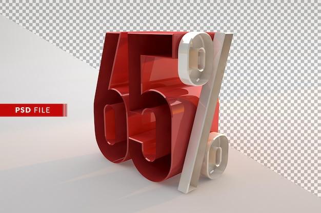Vente 65 pour cent de réduction sur le concept isolé 3d promotionnel