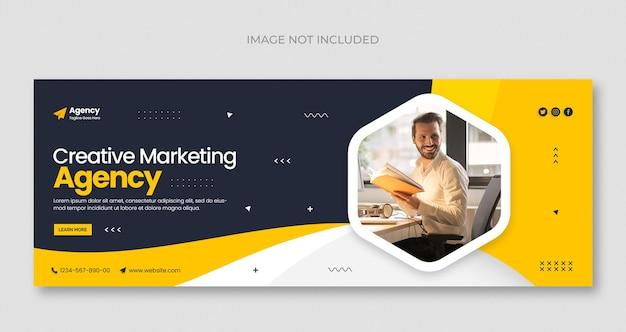 Vente de produits laitiers sur les médias sociaux bannière web instagram ou modèle de conception de photo de couverture facebook