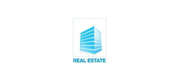Véritable modèle de conception immobilier logo