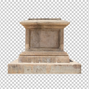 Vieux entablement de pierre