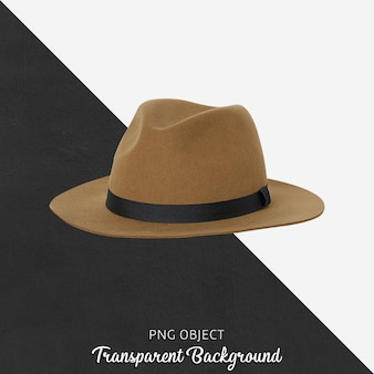 Vue de face de la maquette de chapeau