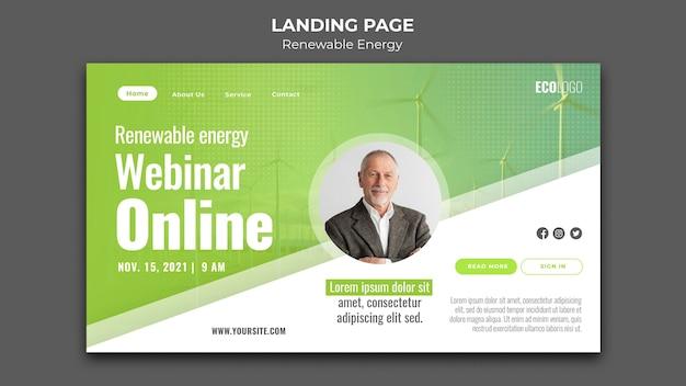 Webinaire en ligne sur les énergies renouvelables