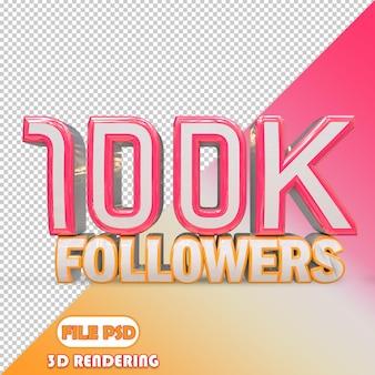 100k seguidores