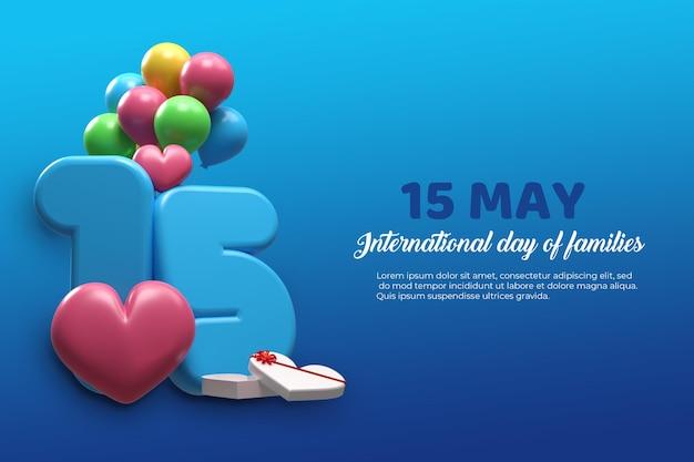 15 de maio dia internacional das famílias