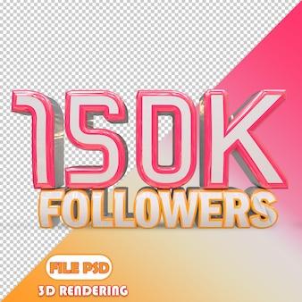 150k seguidores