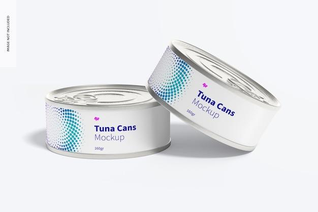 160gr maquete de latas de atum