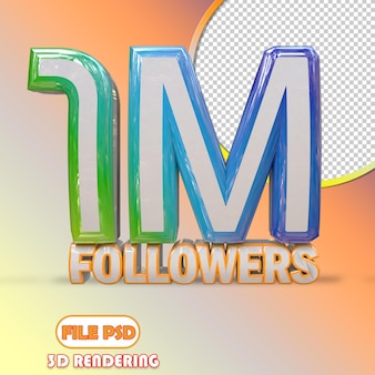 1m seguidores