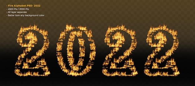 2022 efeitos do alfabeto de fogo