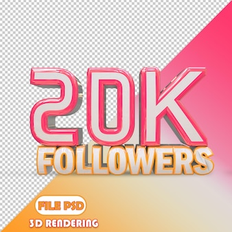 20k seguidores