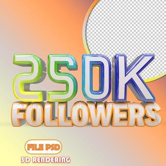 250k seguidores