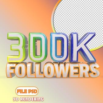 30k seguidores