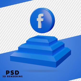 3d box facebook render