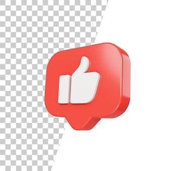 3d brilhante como design de ícone