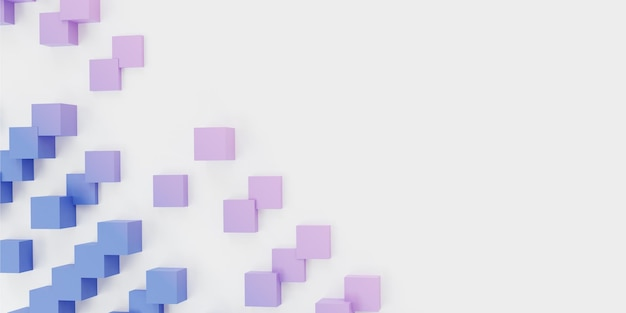 3d render fundo abstrato