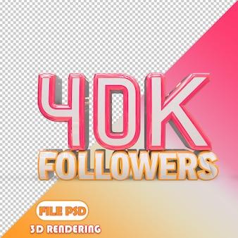 40k seguidores
