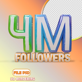 4m seguidores