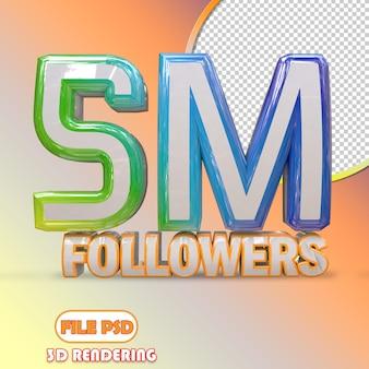 5m seguidores