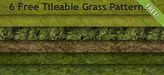 6 grátis tileable patterns grama