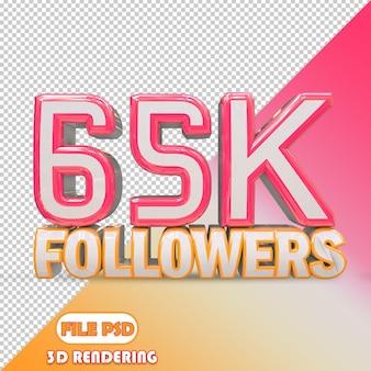 65k seguidores