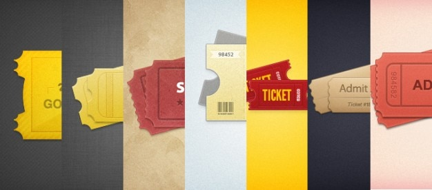 7 tickets styled