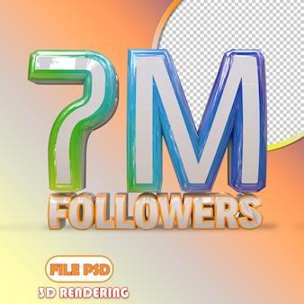 7m seguidores