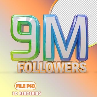 9m seguidores