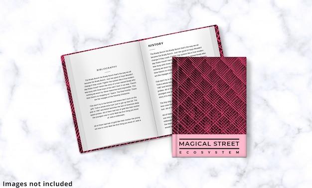 A maquete da capa do livro