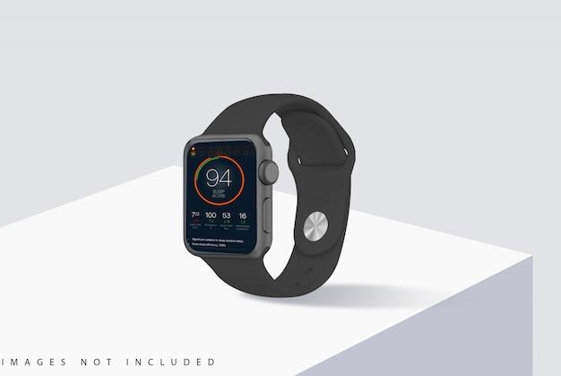 A maquete do relógio inteligente