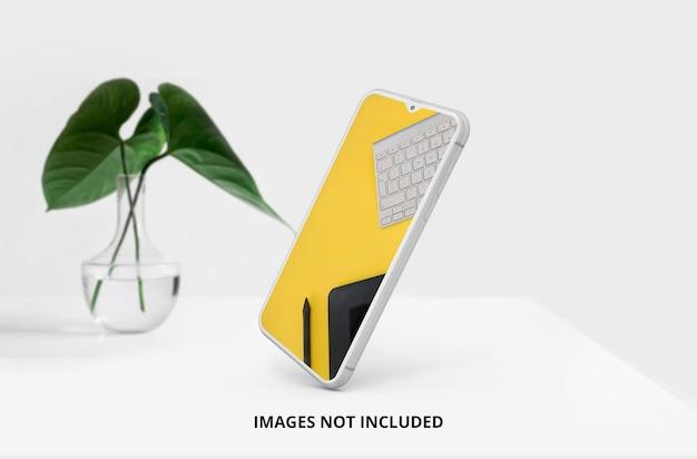 A maquete móvel