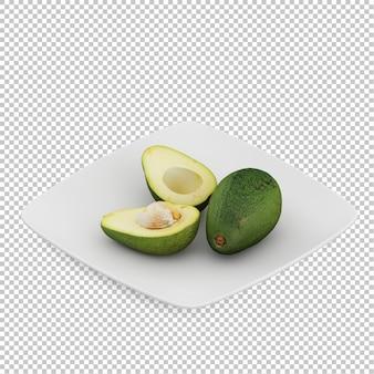 Abacates isométricos