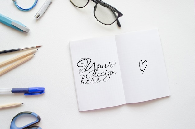 Abra o bloco de anotações
