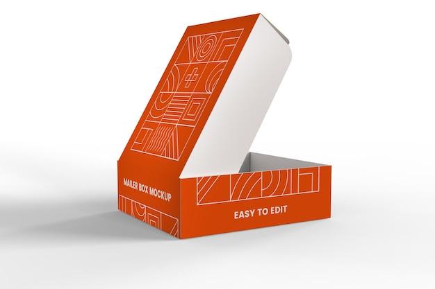 Abra o modelo da caixa de correio