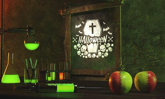 Acordo com itens de halloween