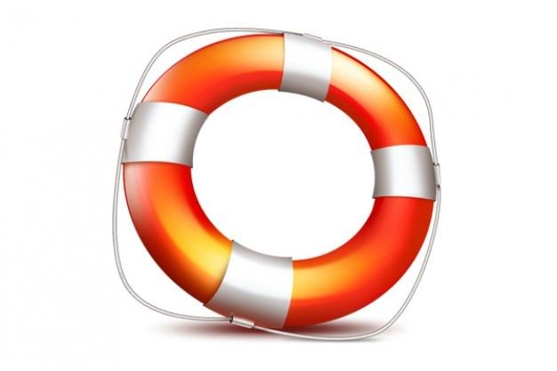 Ajudar ícone psd lifebuoy