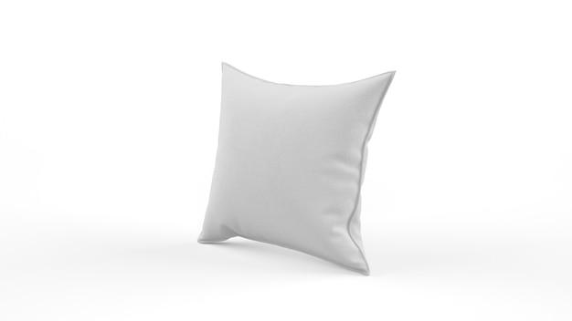 Almofada branca isolada