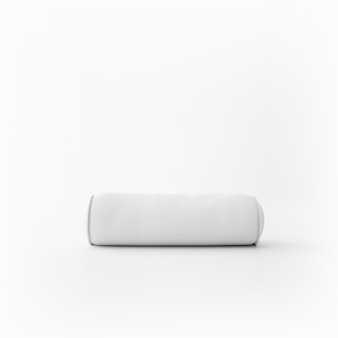 Almofada macia branca Psd grátis