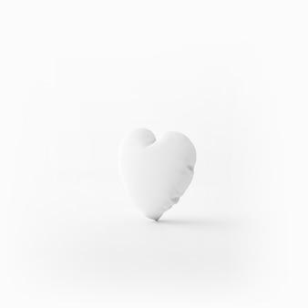 Almofada macia em forma de coração