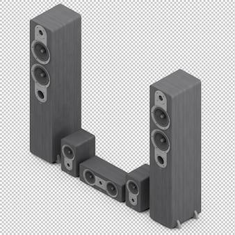 Alto-falantes isométricos