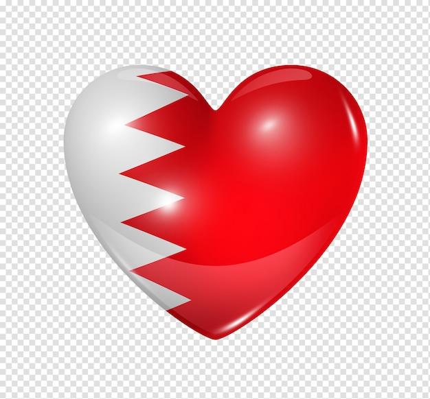 Amo o bahrein, ícone de bandeira do coração