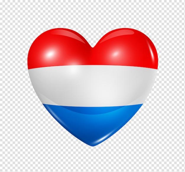Amor holanda, símbolo da bandeira do coração