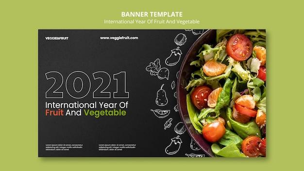 Ano internacional da bandeira de frutas e vegetais