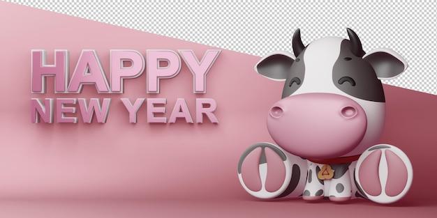 Ano novo chinês, ano do boi.