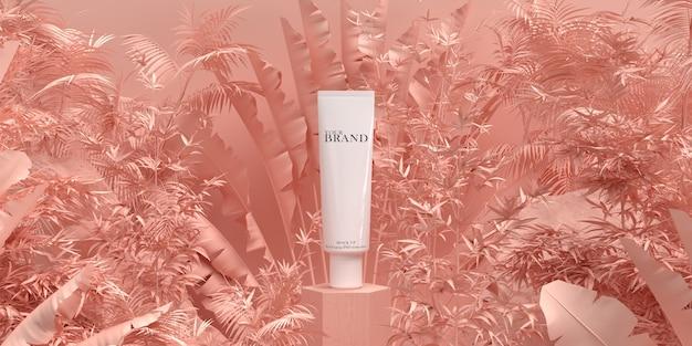 Anúncio de produto hidratante para cuidados com a pele