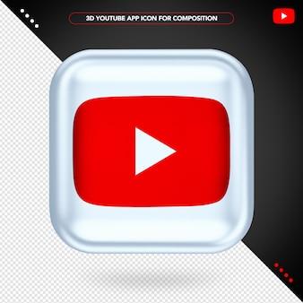 App de reprodução 3d do youtube