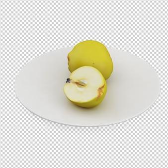 Apple isométrica