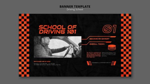 Aprenda a conduzir o modelo de banner
