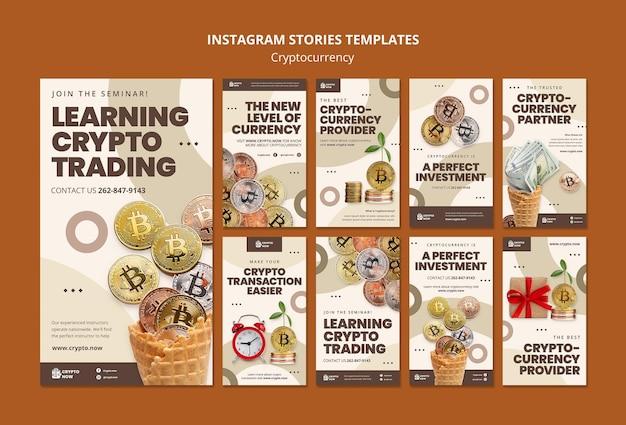 Aprendendo histórias de instagram de negociação de criptografia