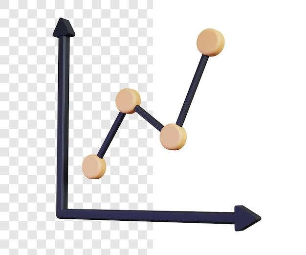 Apresentação de gráfico 3d simples