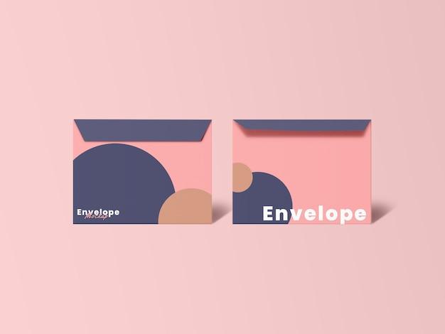 Aproxime-se do design minimalista do modelo de envelope